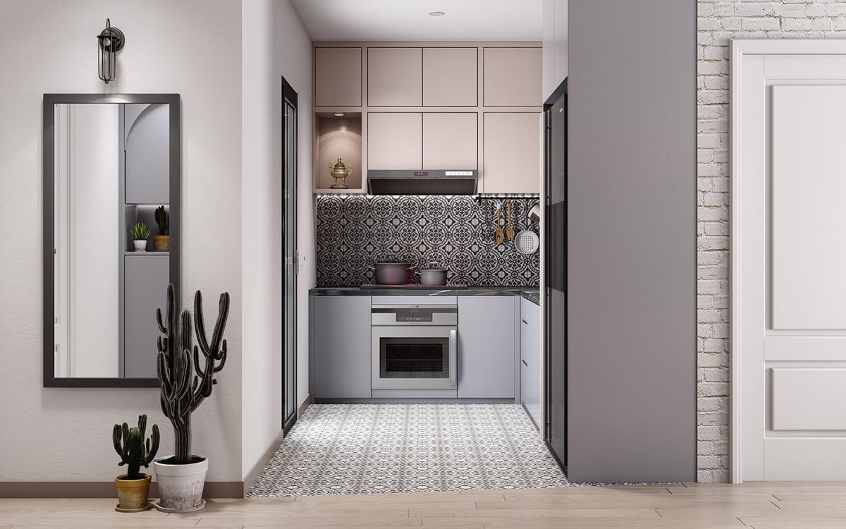 Muhteşem küçük mutfak tasarım modelleri